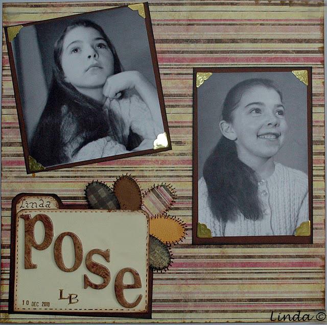 The pose