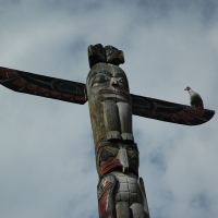 Totem pole photos