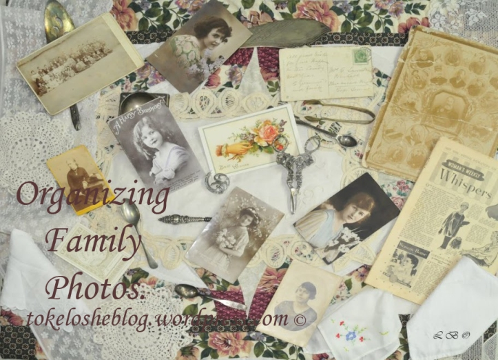 Organizing family photos